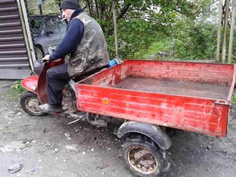 Како НЕ се вози руски трицикл