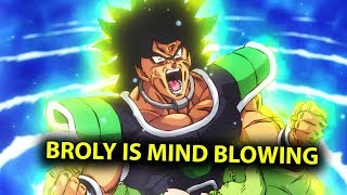 Dragon Ball Super Broly is Better Than You Can Even Imagine