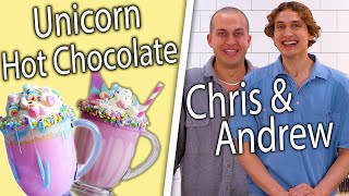 Chris Klemens & Andrew Lowe Compete to Re-Create Unicorn Hot Chocolate | Top-Down Challenge