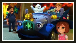 Wheels On The Bus Halloween Song + More Nursery Rhymes and Kids Songs | Cartoon For Kids