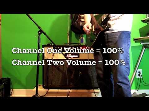 GUITAR TONE - BUGERA BC30 212 - BLENDING CHANNELS