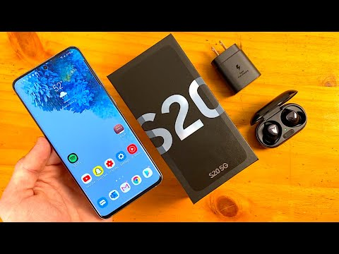 Samsung Galaxy S20 (Cloud Blue) Unboxing & First Impressions!
