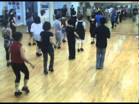 Blue Night Cha - Line Dance (Demo & Walk Through)