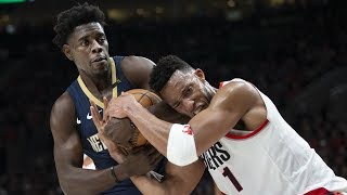 Pelicans Steal Game 1! Jrue Holiday Clutch Block! 2018 NBA Playoffs