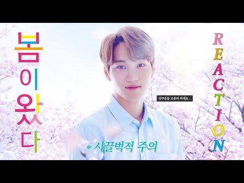 덕메들과 엑소 카이 일본드라마 '봄이 왔다 (Spring Has Come)' 리액션 (feat.시끌벅적 주의)💜