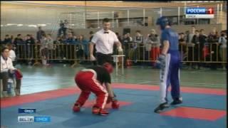 В Омске проходят всероссийские соревнования по кикбоксингу