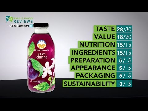 Phil's Food Reviews -- Blossom Water Plum Jasmine TOTAL SCORE: 94/100