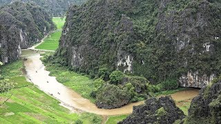Trang An & Tam Coc: Karst Scenery of Ninh Binh, Vietnam in 4K Ultra HD