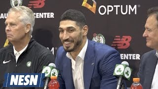Enes Kanter Trolls Kyrie Irving When Asked Why He Chose No. 11