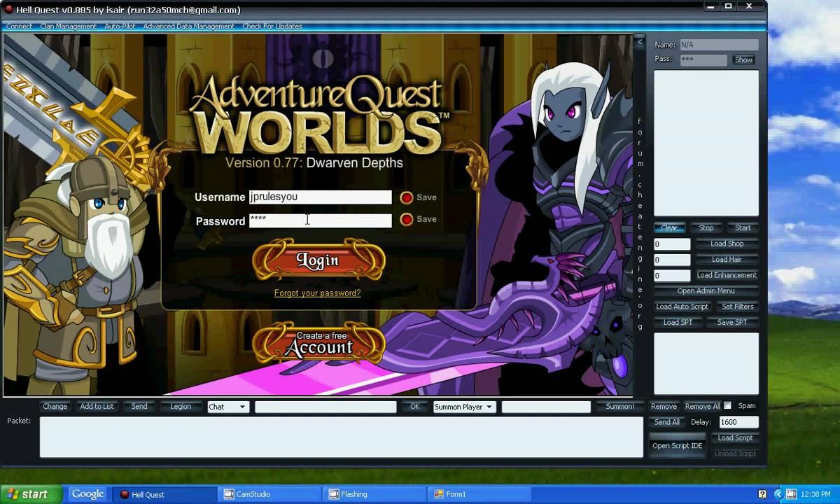 Adventure Quest Worlds Hack - YouTube