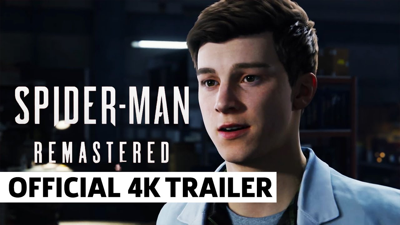 Marvel's Spider-Man Remastered - Official 4K PS5 Trailer