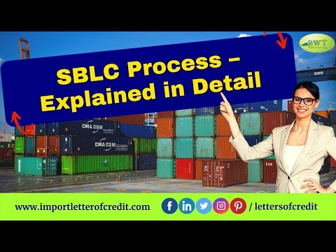 Standby Letter of Credit – SBLC Providers – SBLC MT760 – Standby LC - SBLC Process