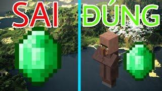 7 Điều Mà 99,99% Bạn Thường Làm SAI BÉT Trong Minecraft