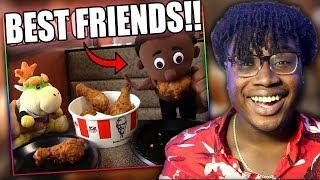BOWSER JR. GETS A BLACK FRIEND! | SML Movie: Bowser Junior's Daddy Problem Reaction!