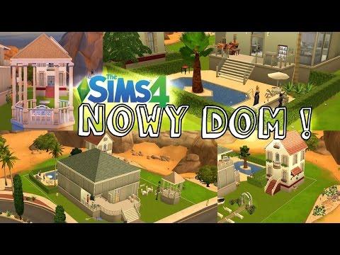 #19 The Sims 4 - NOWY DOM! Willa, basen! Budowanie!