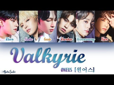 ONEUS (원어스) - Valkyrie [발키리] Color Coded Lyrics/가사 [Han|Rom|Eng]