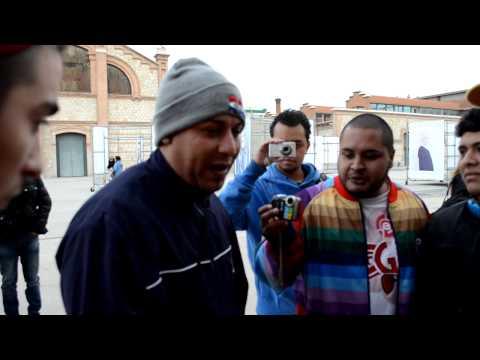 Latinos en Madrid / Freestyle en el matadero / Bylo, Cristofebril, Lil G, Aczino, Hampper