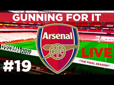 GUNNING FOR IT | PART 19 | LIVE | FOOTBALL MANAGER 2019