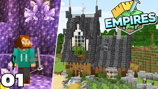 EmpiresSMP : My New Starter House! Ep #1 Minecraft 1.17 Survival Let's Play