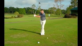 Cross-Foot Driver Drill with Golf Channel Academy instructor Sean Lanyi