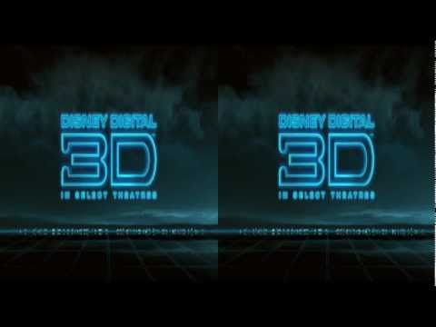 Disney 3D Blu Ray Wow Reel