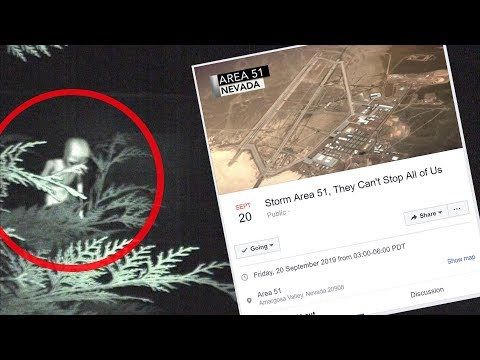 """Why the siege of Area 51 will NOT end well"" Creepypasta"
