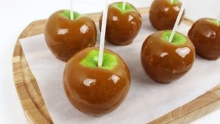 Easy Homemade Caramel Apples
