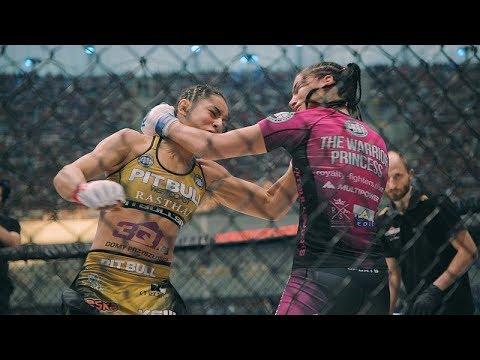 Zapowiedź mistrzowskiego starcia KSW 40: Ariane Lipski vs Mariana Morais