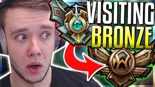 REDMERCY VISITS BRONZE ELO FOR THE FIRST TIME - Master Playing In Bronze - League of Legends