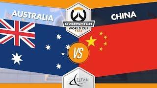 [ES] Australia vs. China - 2018 Overwatch World Cup - Fase de Grupos Bangkok - DÍA 3