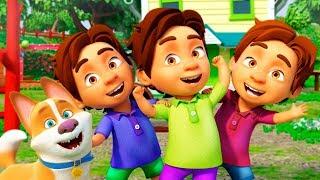 A Ram Sam Sam canciones infantiles y dibujos animados en español para niños con Sunnyside