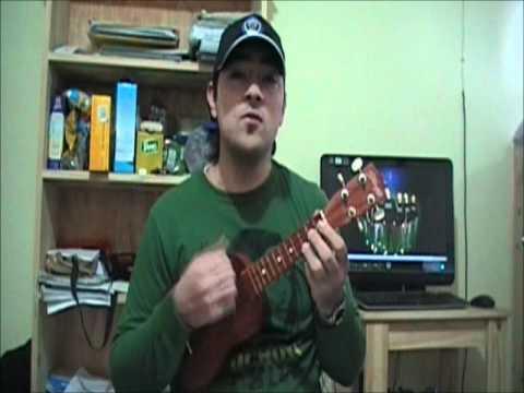 Muerte en hawaii calle 13 ukelele cover  ukulele.wmv