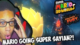A Bigger Badder Bowser - Super Mario 3D World + Bowser's Fury - Nintendo Switch REACTION!