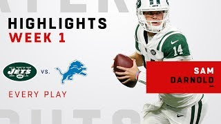Every Sam Darnold Play from NFL Debut!
