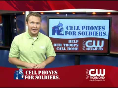CW Richmond and Bass Pro Supports Cell Phones for Soldiers
