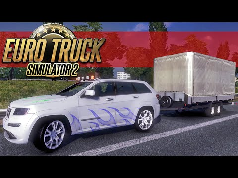 Viagem de Carro - Euro Truck Simulator 2