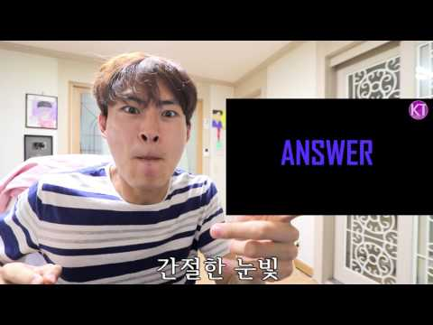 (ENG SUB) KPOP quiz - Can you guess the song only with animated silhouette? [GoToe KPOP]