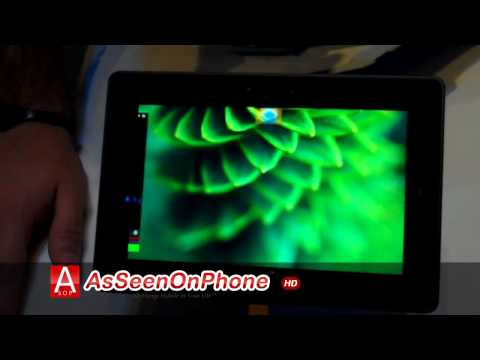 Blackberry Playbook Demo Video