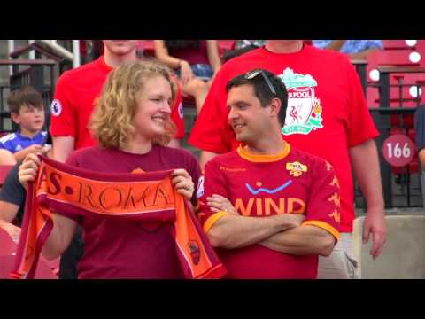 Roma Tour Day 10: Fans flock to see team face Liverpool