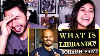 WHAT IS LIBRANDU? | Standup Comedy | Sorabh Pant | Reaction by Jaby & Gaby!
