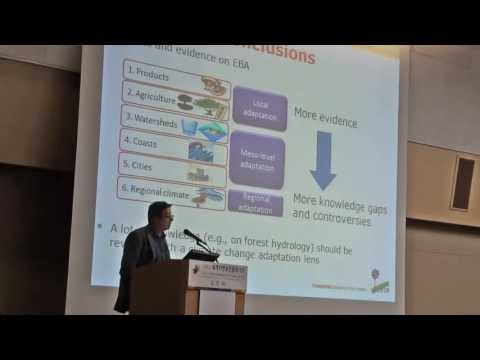 Terry Sunderland – Forest and tree ecosystem services for adaptation: Six Stories