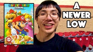 NOT PROUD OF WHAT I DID FOR (NEW) SUPER MARIO CEREAL (AGAIN)