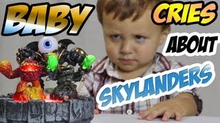 Little Baby Cries over Skylanders (Lightcore Chase)