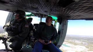 Flight in a Vietnam War Era UH-1H Huey (Sky Soldiers Demo)