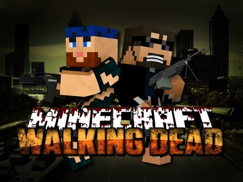Minecraft Walking Dead Mod 1 - THE BEGINNING OF THE END(Walking Dead Series) - SSundee  - _qXzjJURtFA -