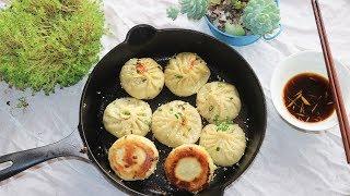 BETTER THAN TAKEOUT- Soup Dumplings (Pan Fried) 生煎包