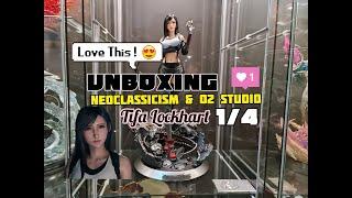 Unboxing Neoclassicism & O2 Studio, Tifa Lockhart 1/4.