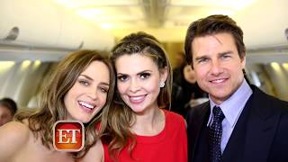 TOM CRUISE FUNNY MOMENTS WITH CARLY STEEL