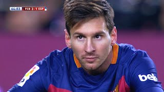 Lionel Messi vs Espanyol (Home) 15-16 HD 720p (Copa Del Rey) - English Commentary