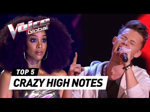 SURPRISING high notes in The Voice